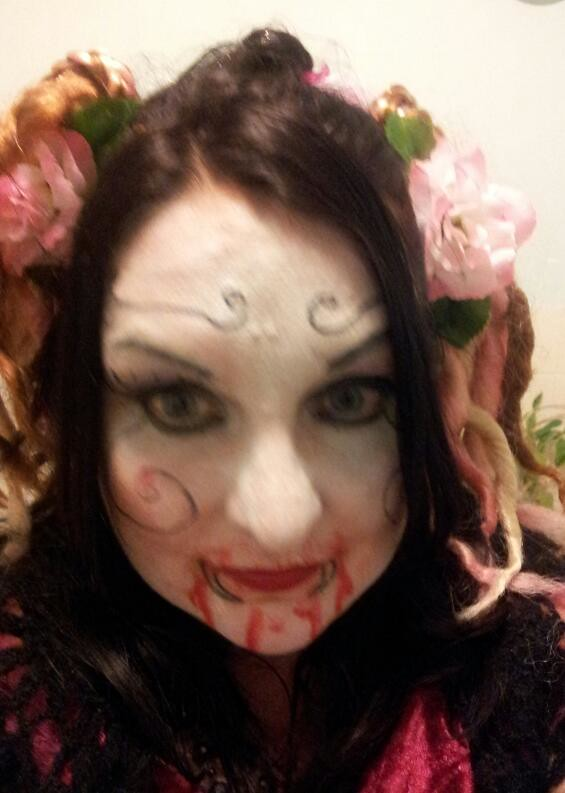 , Halloween Giggage and Make Up!  #NaBloPoMo Day 4