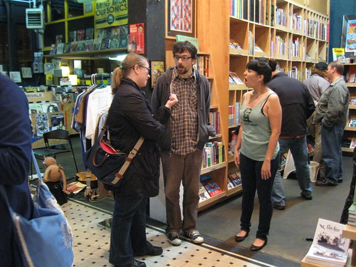 Noah Van Sciver, David Lasky, Frank M. Young at the Fantagraphics Bookstore & Gallery, 11/2/12