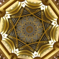 Central dome of the Emirates Palace Hotel