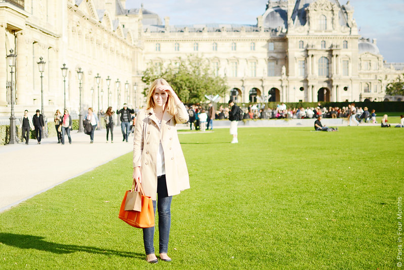 In Paris by Carin Olsson (Paris in Four Months)