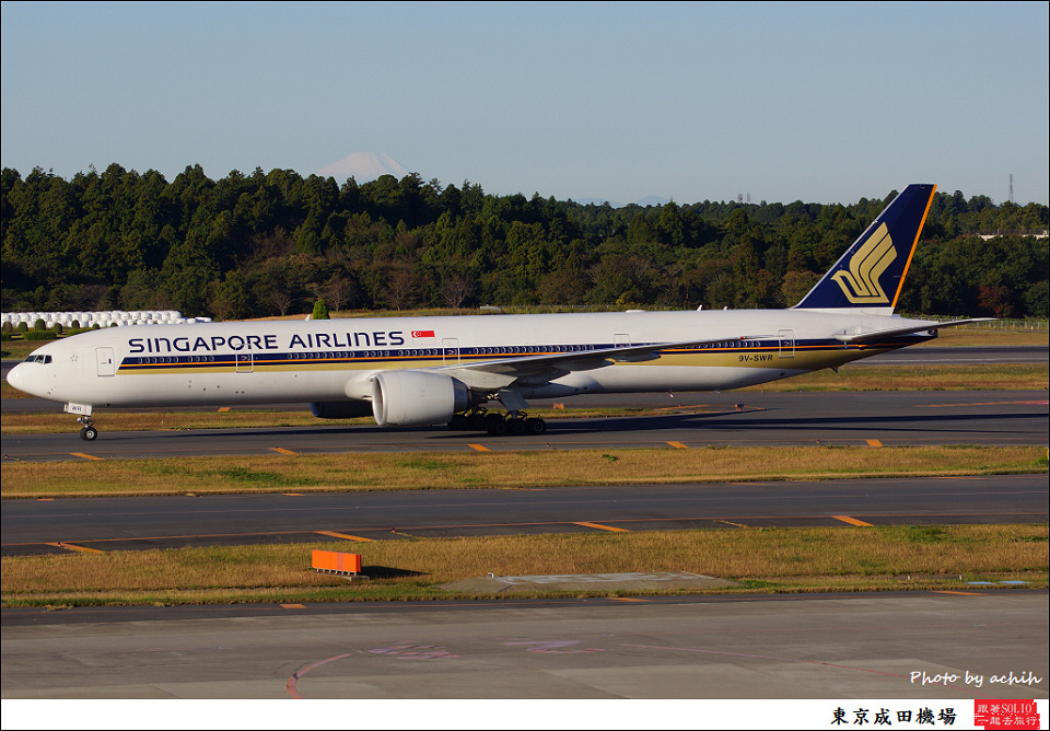 Singapore Airlines / 9V-SWR / Tokyo - Narita International