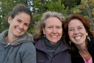 Heidi, Katie & Pru