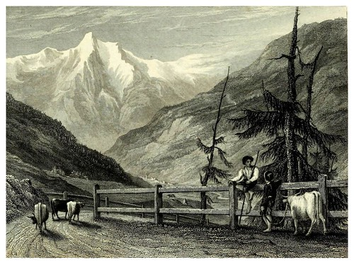 006- En el ascenso al Mont Cenis-The hand-book for travellers in Italy from London to Naples-1838- William Brockedon