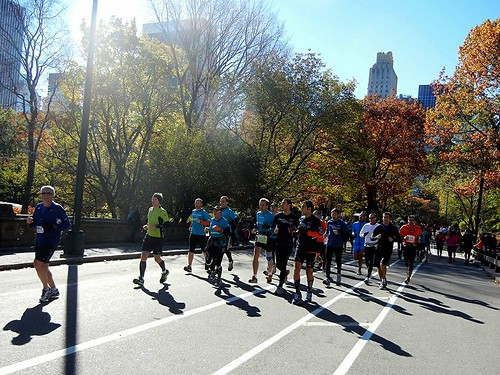 Corrida Central Park Maraton de Nueva York 2012