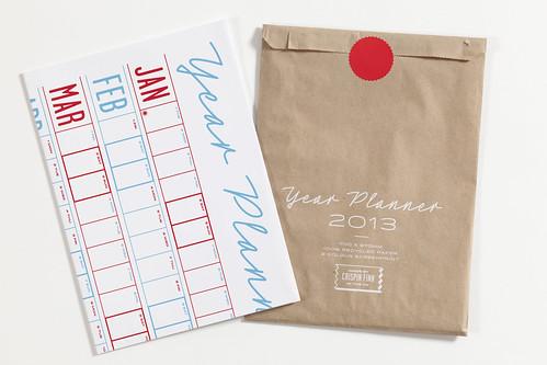 Crispin Finn's 2013 Year Planner