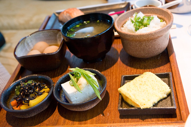 Japanese breakfast, Asiate