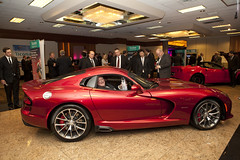 hennessey viper venom 1000 twin turbo(0.0), muscle car(0.0), race car(1.0), automobile(1.0), vehicle(1.0), performance car(1.0), automotive design(1.0), auto show(1.0), chrysler viper gts-r(1.0), land vehicle(1.0), srt viper(1.0), supercar(1.0), sports car(1.0),