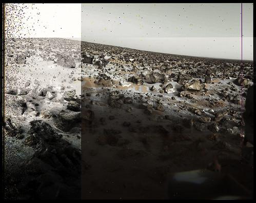 Viking 2 lander - neve su Marte