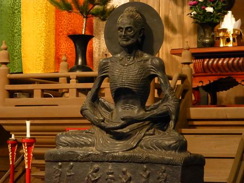 建長寺 - 釈迦苦行像