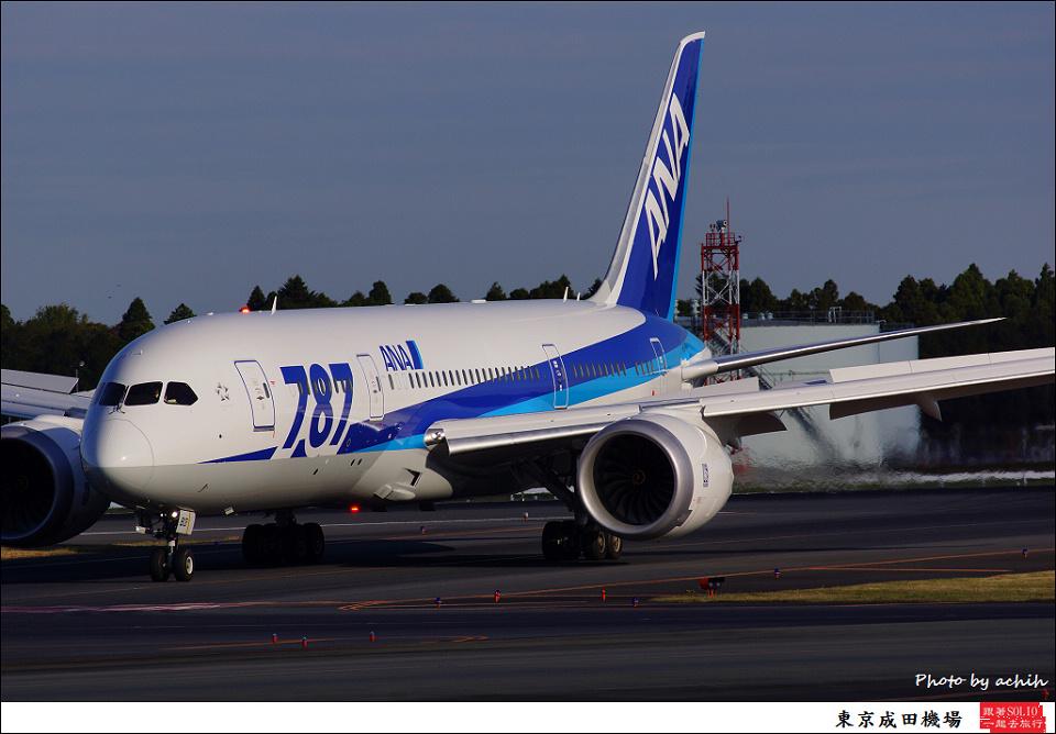 All Nippon Airways - ANA / JA813A / Tokyo - Narita International
