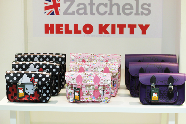 Hello Kitty Zatchels satchel collaboration