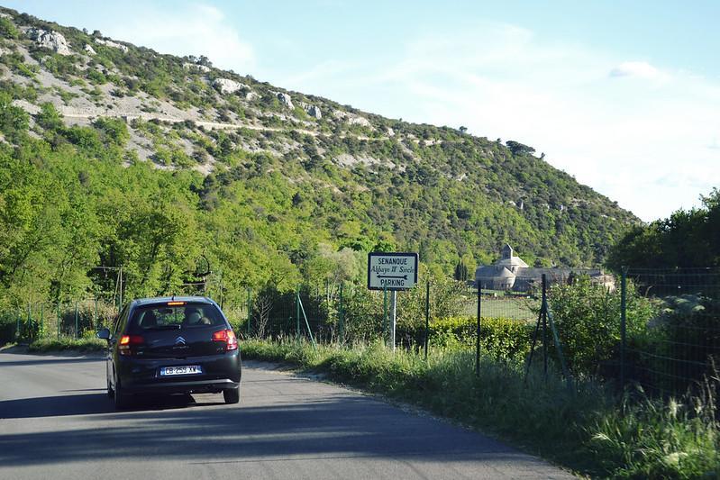 Approaching Senanque Abbey