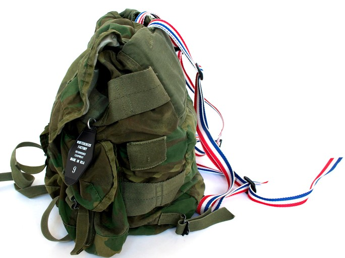 Tuukka13 - Non-Black Backpack Inspiration - Old Military Backpack