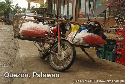 Delivery Motorcycle in Quezon, Palawan