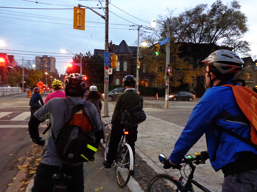 southbound on Sherbourne