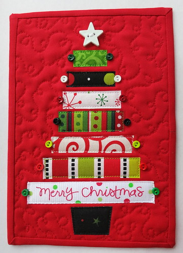 Holiday 2012 Mug Rug #2