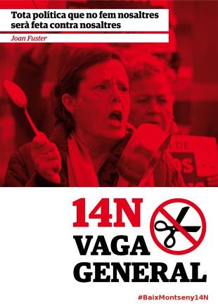 cartell sant celoni vaga general #14n