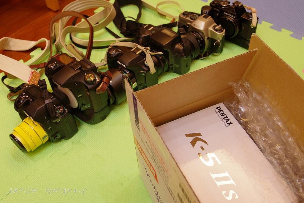 K-5IIs亂開箱及試拍