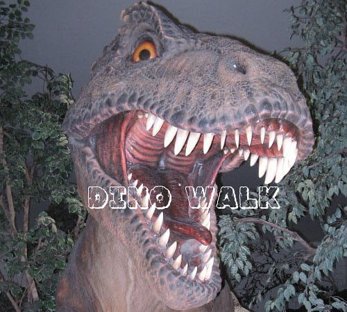 Rent Life Size Animatronic Dinosaur to Geopark
