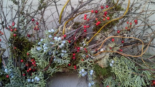 twiggy Christmas wreaths