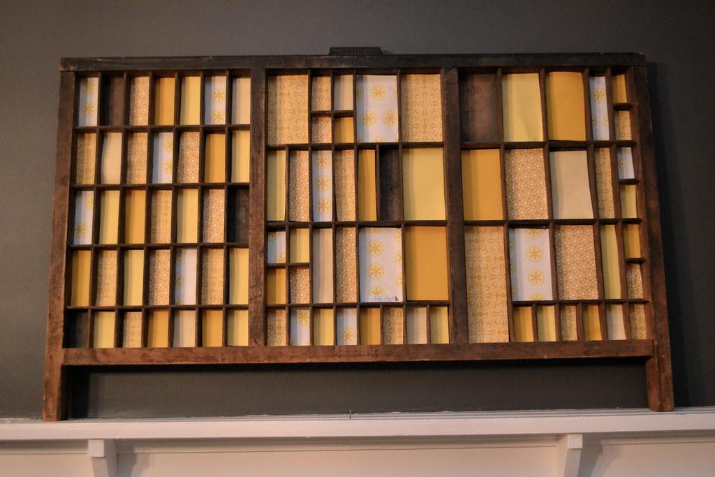 Antique Letterpress Drawer Vintage Letterpress Drawer