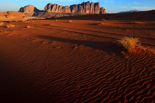 sunrise october wadirum jordan 2012