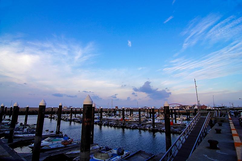 竹圍漁港亂拍