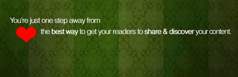 Chèn nút chia sẻ mạng xã hội đẹp mắt