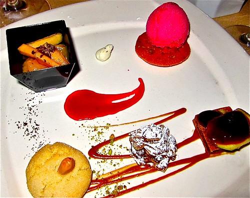 first dessert course