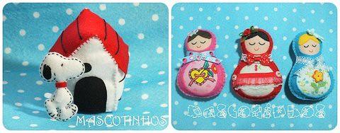 Presentes... by Mascotinhos em Feltro