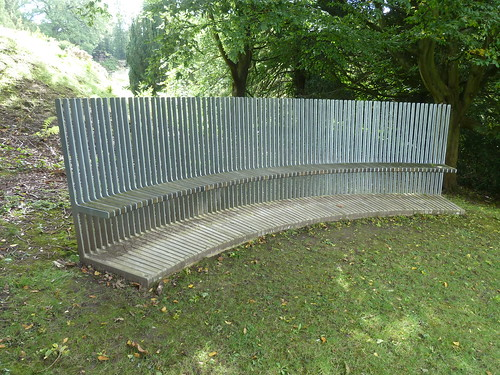 A bench at Chatsworth ... [2]