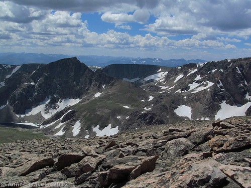 Another view from the top of Mount Rearguard, Custer National Forest, Montana