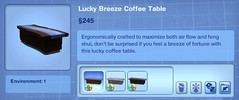 Lucky Breeze Coffee Table