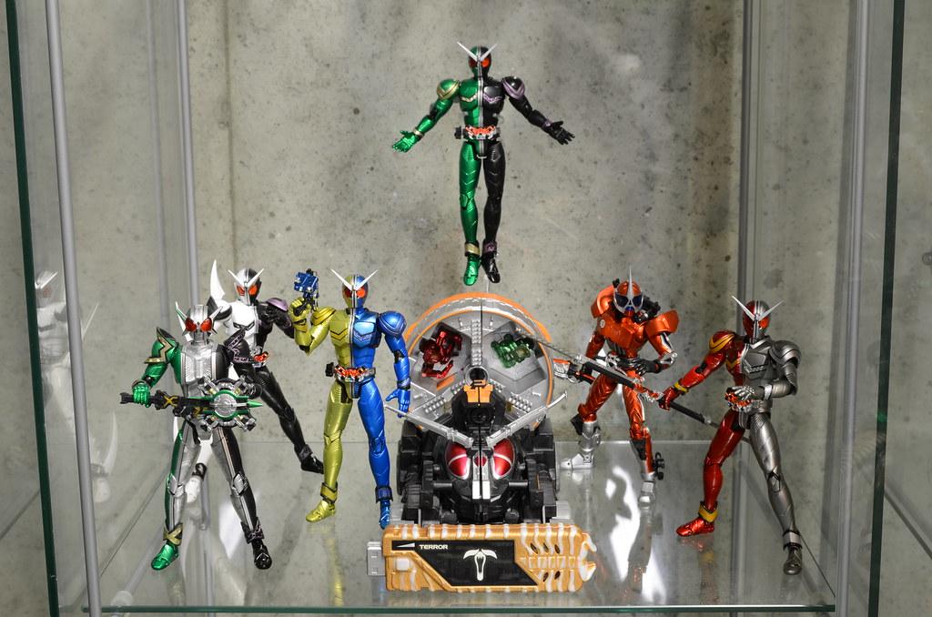 Kamen Rider W Display