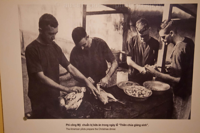 American Pilots Preparing Christmas Dinner