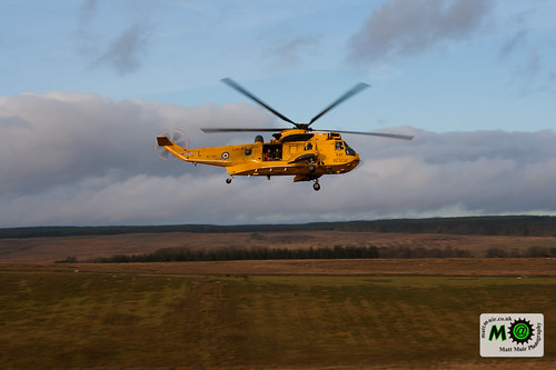 Photo ID 9 - RAF Sea King over Hadrian's Wall by mattmuir.co.uk