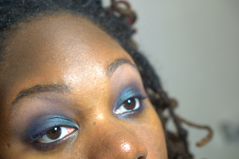 Smokey Eyes with Urban Decay's Smoked Eyeshadow Palette
