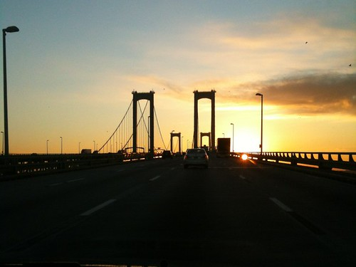 Delaware Memorial Bridge at Sunrise