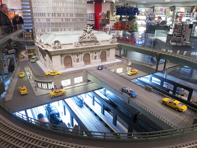 New york portraits grand central station in miniature at for Ny transit museum store