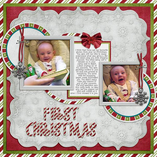 Logan's First Christmas by Lukasmummy