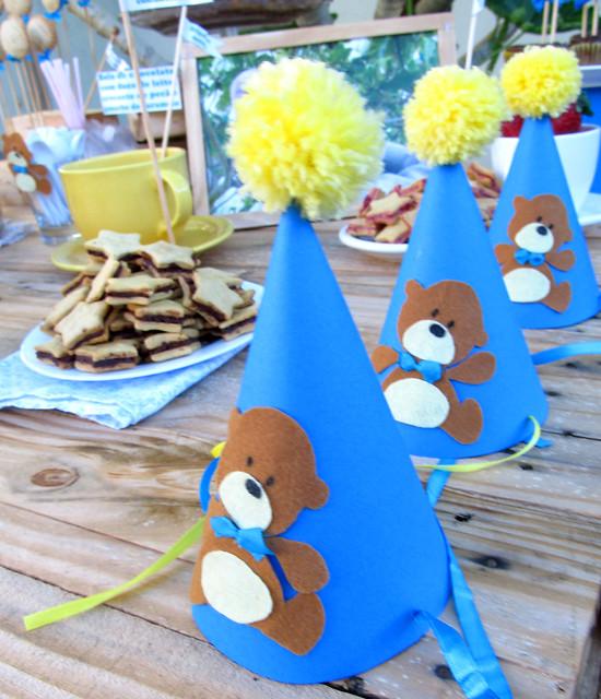 Chapéu de aniversário feito em casa diy