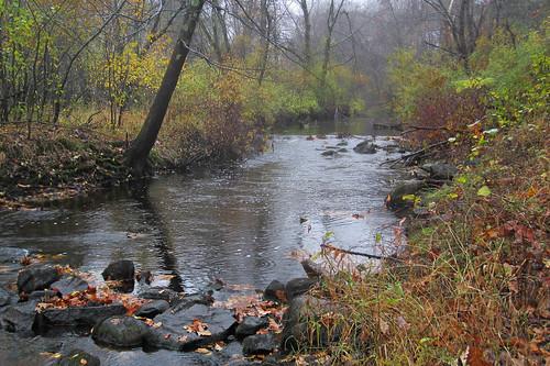 autumn mist fall rain massachusetts newengland peaceful ipswichriver northreading