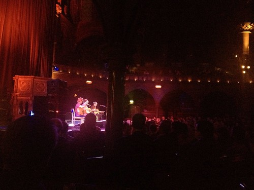 Craig Finn, Patterson Hood and Will Johnson at Union Chapel