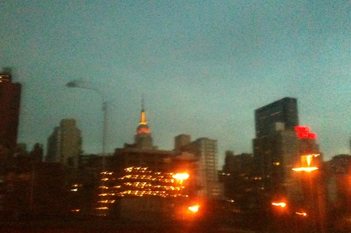 Leaving NYC