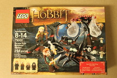 LEGO The Hobbit Escape From Mirkwood Spiders (79001)