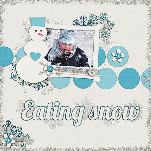 Eating Snow by Lukasmummy
