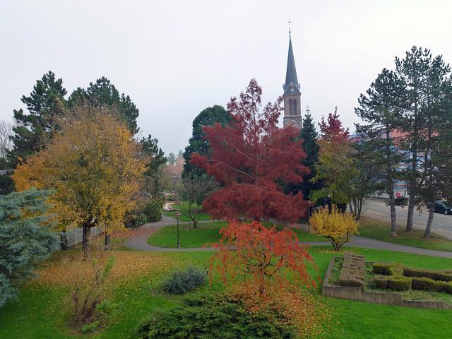 Pfastatt en automne