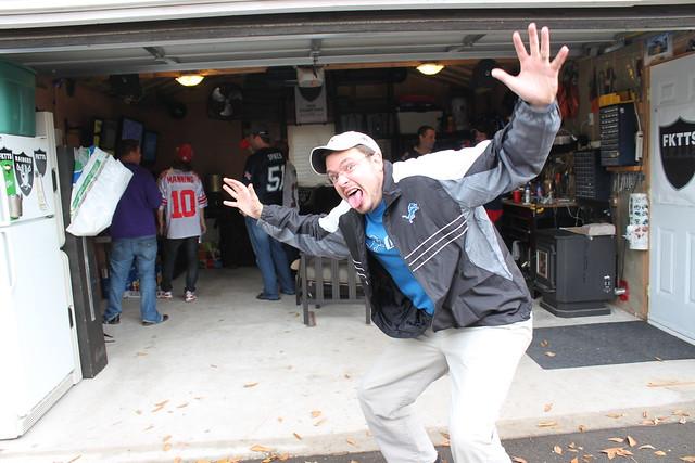 Man Caves R Us : Man cave garage football october th flickr