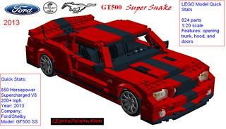 2013 Shelby Mustang Super Snake