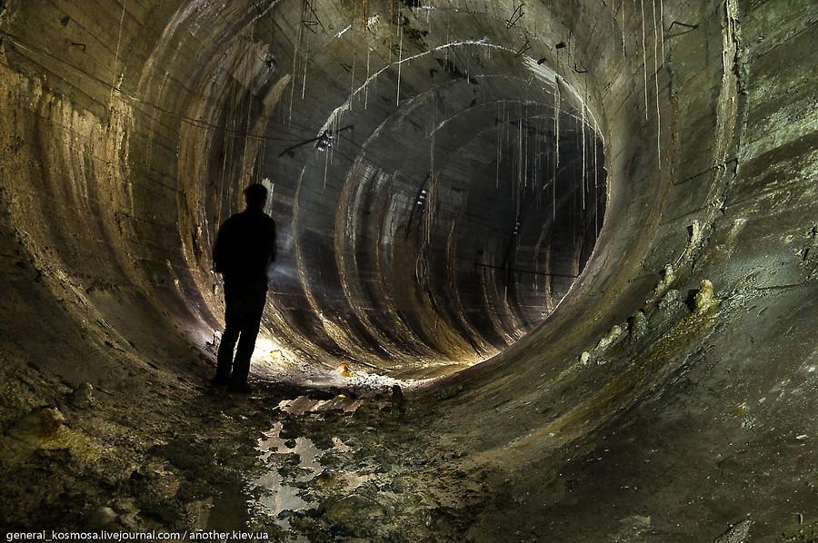 Заброшенный подземный город